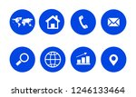 web icon. vector illustration | Shutterstock .eps vector #1246133464