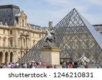 05.05.2008  paris  france. the... | Shutterstock . vector #1246210831