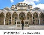 suleymaniye mosque istanbul.    Shutterstock . vector #1246222561