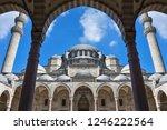 suleymaniye mosque istanbul.    Shutterstock . vector #1246222564