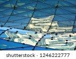 building structures aluminum... | Shutterstock . vector #1246222777