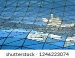 building structures aluminum... | Shutterstock . vector #1246223074