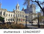 city hall building in city hall ... | Shutterstock . vector #1246240357