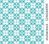 abstract seamless ornamental... | Shutterstock .eps vector #1246266904