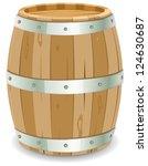 Winemaker Barrel  Illustration...