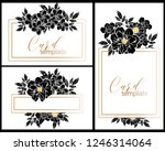 vintage delicate greeting... | Shutterstock . vector #1246314064