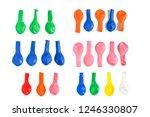 close up top view  mix...   Shutterstock . vector #1246330807