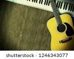 musical instrument   sloseup...   Shutterstock . vector #1246343077