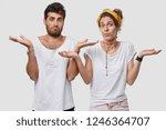 photo of hesitant boyfriend and ... | Shutterstock . vector #1246364707