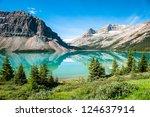 Bow Lake Panorama At The...