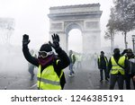 paris  france.  1st december... | Shutterstock . vector #1246385191
