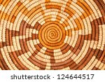 Small photo of Colorful Native American Woven Background Pattern