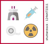 4 therapy icon. vector...   Shutterstock .eps vector #1246472311