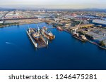 shipyard continuously aims to...   Shutterstock . vector #1246475281