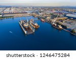 shipyard continuously aims to...   Shutterstock . vector #1246475284