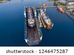 shipyard continuously aims to...   Shutterstock . vector #1246475287