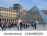 05.05.2008  paris  france. the... | Shutterstock . vector #1246480201