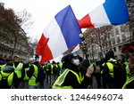 paris  france.  1st december... | Shutterstock . vector #1246496074