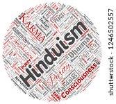 vector conceptual hinduism ... | Shutterstock .eps vector #1246502557