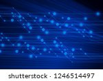 online abstract blue connect to ... | Shutterstock . vector #1246514497