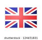 flag london background. | Shutterstock .eps vector #124651831