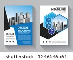 business abstract vector... | Shutterstock .eps vector #1246546561