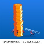strategy and competition | Shutterstock .eps vector #1246566664