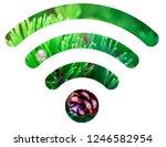 wifi signal symbol | Shutterstock . vector #1246582954