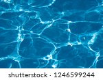 blue and bright ripple clean... | Shutterstock . vector #1246599244