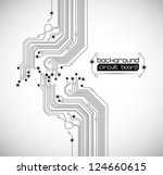 abstract circuit board... | Shutterstock .eps vector #124660615