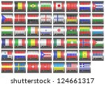 illustration with a barcode...   Shutterstock . vector #124661317