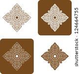 vector artistic of traditional... | Shutterstock .eps vector #124664755