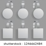 wobbler template. supermarket... | Shutterstock .eps vector #1246662484