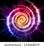 abstract vector magic background | Shutterstock .eps vector #124668019