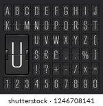 vector illustration of black... | Shutterstock .eps vector #1246708141