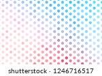 light blue  red vector... | Shutterstock .eps vector #1246716517