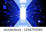visual drawing of soft light... | Shutterstock .eps vector #1246793284