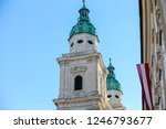 spires and domes of churches in ... | Shutterstock . vector #1246793677