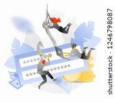 password phishing attack vector ... | Shutterstock .eps vector #1246798087