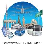 concept illustration of... | Shutterstock .eps vector #1246804354