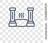 roman bath icon. trendy roman...   Shutterstock .eps vector #1246804924