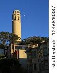 coit tower  san francisco... | Shutterstock . vector #1246810387