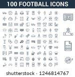 100 Football Universal Linear...