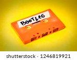 a vintage cassette tape ... | Shutterstock . vector #1246819921