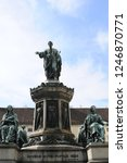 monument to emperor franz.... | Shutterstock . vector #1246870771
