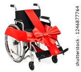 Manual Wheelchair With Bow And...