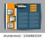 flyer  brochure  billboard... | Shutterstock .eps vector #1246883104