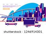 vector horizontal conceptual... | Shutterstock .eps vector #1246914301