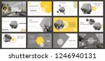 slides. modern presentation... | Shutterstock .eps vector #1246940131