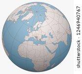 bosnia and herzegovina  b h ... | Shutterstock .eps vector #1246940767